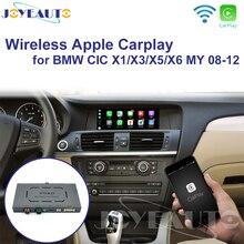 Joyeauto WIFI Drahtlose Apple Carplay Auto Spielen für BMW CIC X1 X3 X5 X6 E70 E71 E84 F25 Android Spiegel unterstützung Hinten Vorne CM