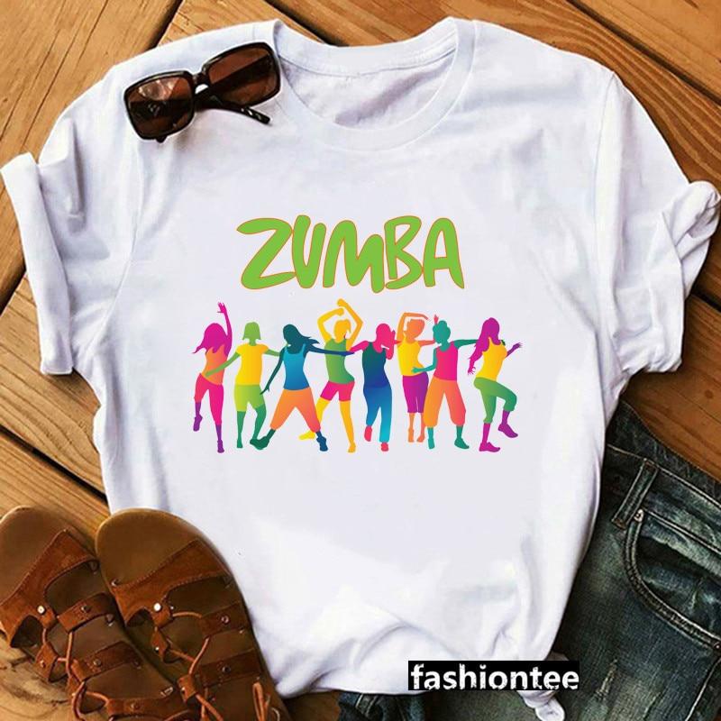 Femmes danse amant noël T-shirt Hip Hop T-shirt T-shirt femmes à société graphique courtes manches taille amplo T-shirt Zumba Fitness