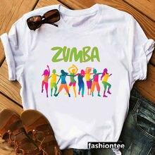 Femmes danse amant noël T-shirt Hip Hop taille ample T-shirt été graphique T-shirt femmes à manches courtes T-shirt Zumba Fitnes