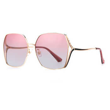 New Women Polarized Sunglasses Metal Frame 4 Colors Goggle UV400 Driving Glasses For Woemen With Box - DISCOUNT ITEM  5 OFF Apparel Accessories