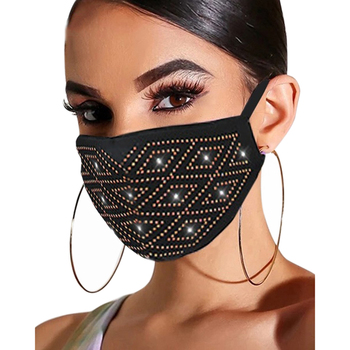 Fashion Sequin For Women 1PC Face cosplay washable reusable shiny colorful cycling maske bandana cosplay Blackhead healthy