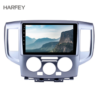Harfey 2 din 9 Android 8.1 Car Audio for 2009 2016 NISSAN NV200 GPS Car Radio Rear Camera Support AUX 3G SWC Mirror Link OBD2
