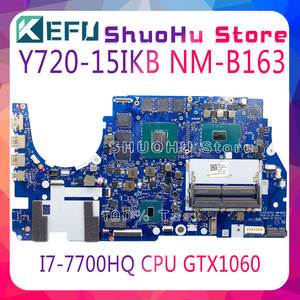 R720 I7-7700hq-Gtx1060m Lenovo NM-B163 Y720-15IKB CPU DY510/DY511 Fit-For 6G 100%Test