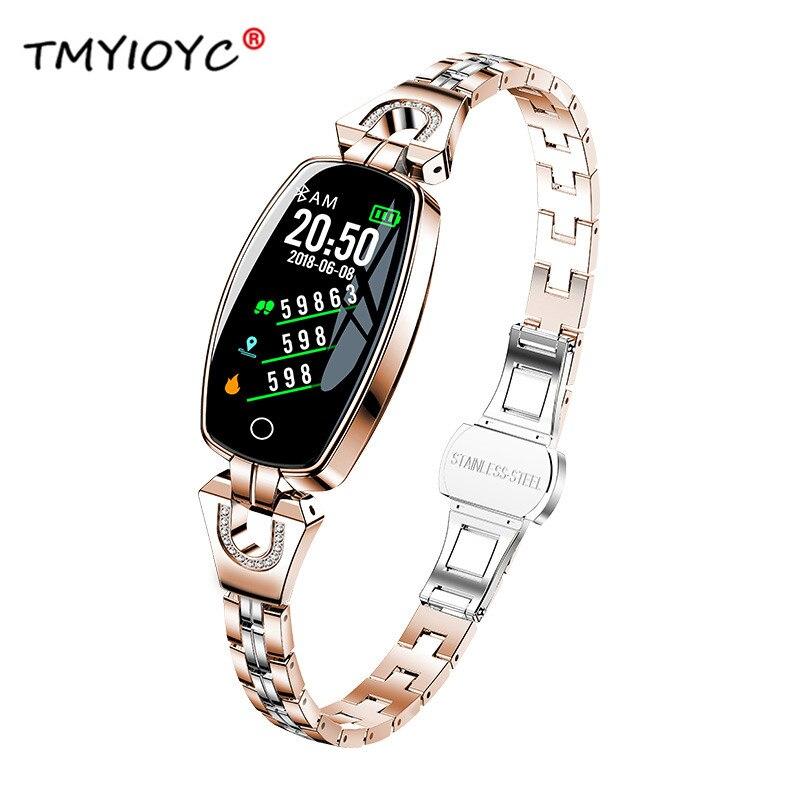 H8 Smart Watch Women Lady Blood Pressure Watch Heart Rate Monitor Fitness Tracker Smart Bracelet IP67 Innrech Market.com