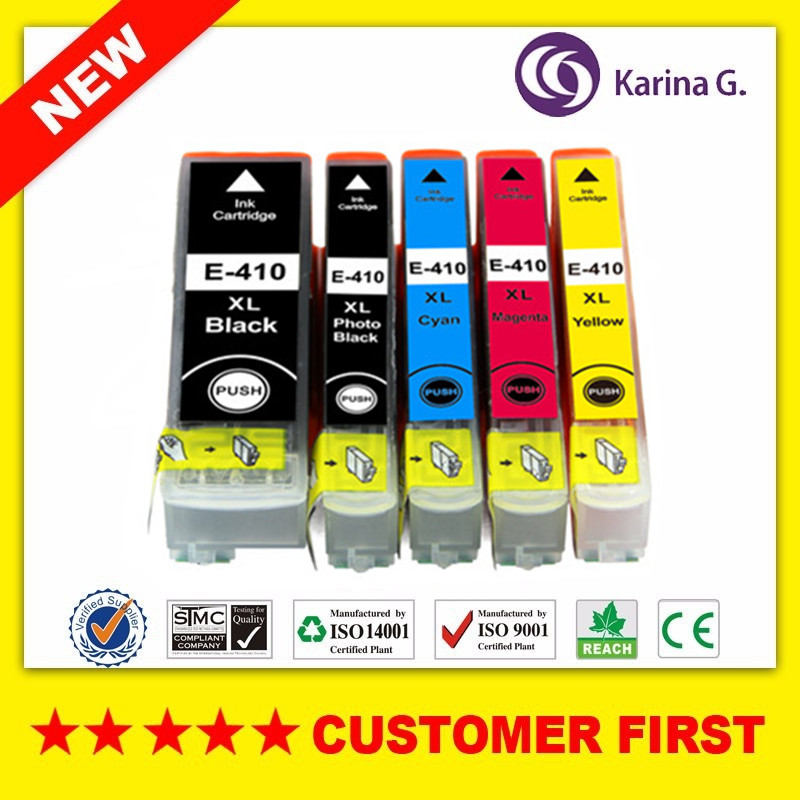 Compatible Ink Cartridge For Epson 410XL T410XL T410XL020 Suit For Expression Premium XP-630/830/XP-530/XP-540/XP-640 Etc.