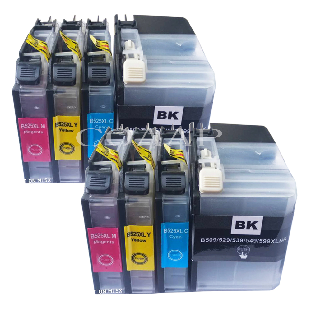 Compatible LC 599 / 595 XL ink cartridge For Brother MFC J2510 J3720 J3520 Printer