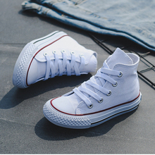 Kids Shoes For Girl Baby Sneakers All Fashion Star Brand High Toe Canvas Toddler