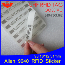Can-Be-Used-To-Rfid-Tag Uhf-Rfid Label EPC Wet-Inlay Alien 860-960MHZ Higgs3 C1G2 ISO18000-6C