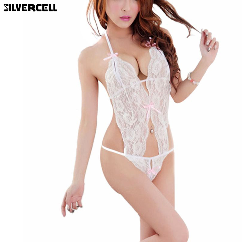 Sex Products Sexy Costumes Women Underwear Lady Sexy Lingerie Transparent Conjoined Dress Suit Leotard Intimates Hot Sale