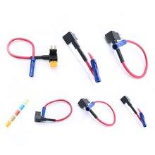 Micro2 ATR Automotive Sicherungen Assorted Sicherung Halter 5 stücke Lumision 5A 7,5 EINE 10A 15A 20A Set Pak Auto Versicherung tabletten