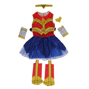 Image 3 - Deluxe Child Dawn Of Justice Wonder Woman Costume