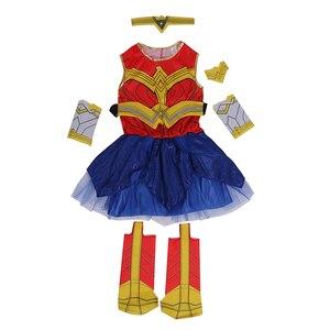 Image 3 - Deluxe Kind Dawn Van Justice Wonder Vrouw Kostuum