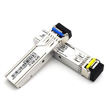 20km 1.25Gb/s LC fiber sfp hot pluggable module BiDi 1310nm/1550nm 20km WDM SFP Module LC switch Compatible цена 2017
