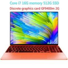 Gaming Laptop Core I7 Geforce940m 16G RAM 512G SSD Laptop 15