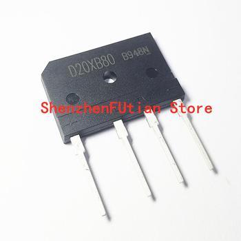 цена на 10pcs/lot D20XB60 D20XB80 DIP-4