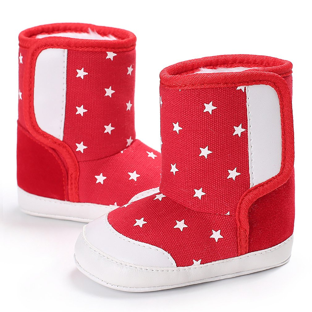 Fashionable Design Keep Warm Winter Baby Child Style Cotton Boot Warm Snow Boots Anti-Slip Boots Shoes