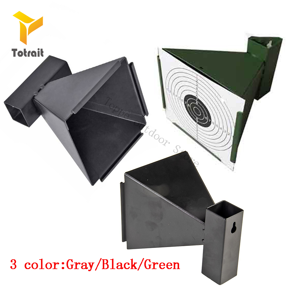 TOtrait 14cm Funnel Pellet Trap Replacement Targets Holder Airgun Air Rifle Shooting Paintball Accessory 3 Color