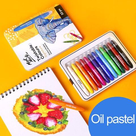 12 24 36 cores oleo pastel desenho conjunto de lapis para criancas cores pastel macias