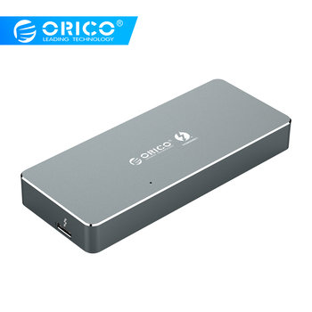 ORICO Thunderbolt 3 40Gbps SSD Case NVME M.2 SSD Enclosure 2TB Aluminum Type-C with Thunderbolt 3 C to C Cable For Mac Windows
