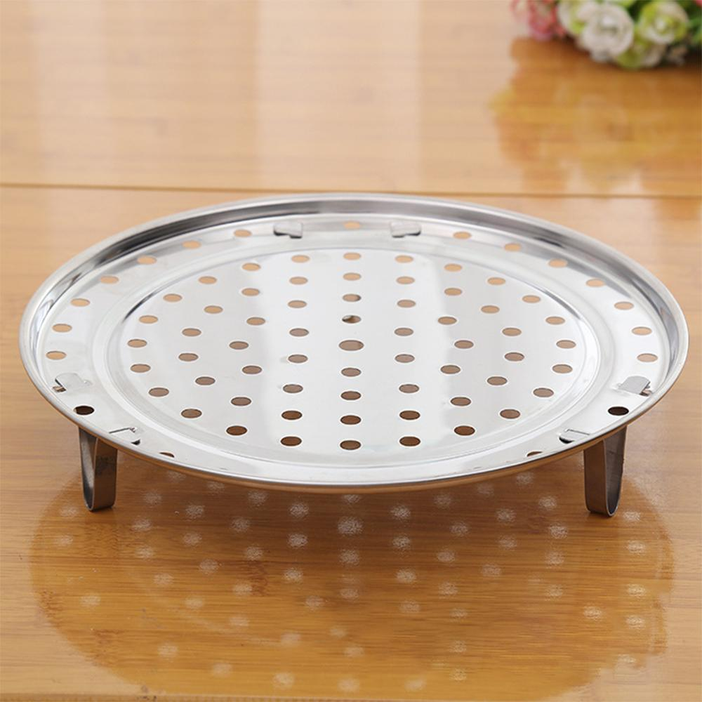 Hot Steamer Shelf Cookware Durable Steamer Multifunction Stainless Steel Steamer Plate for Steamed Bun Kitchen Accessories in Double Boilers from Home Garden
