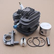 цена на 45mm Cylinder Piston Pin Oil Pump Kit for Oleo-Mac 952 Master Chainsaws Part Spark Plug 50082012