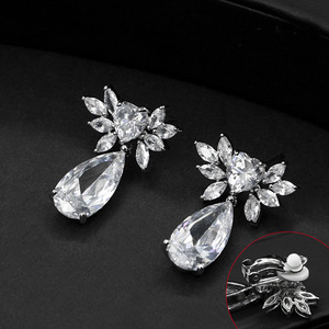 Hot Sale Cubic Zircon clip ear