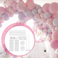 Balloon Column Stand Kit Base And Pole 11.8 Ft Balloon Column Kit Base Stand For Wedding Birthday Party Accessories