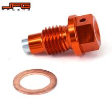 Motorcycle CNC Magnetic Oil Drain Plug Bolt For KTM SX SXF EXC EXCF EXCR XC XCW XCF 125 150 200 250 350 450 530 SMR SMC Duke