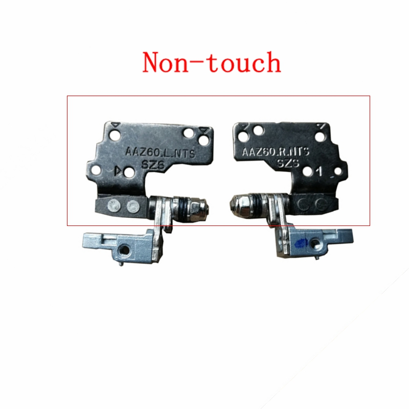 New Laptop LCD Screen Hinges For DELL Latitude E7470 Hinges L+R Non-Touch MRH5G 32HFD LCD Hinges Left Right L R Laptop Notebook