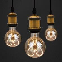 Винтажная Светодиодная лампа Эдисона e27 светодиодные лампы