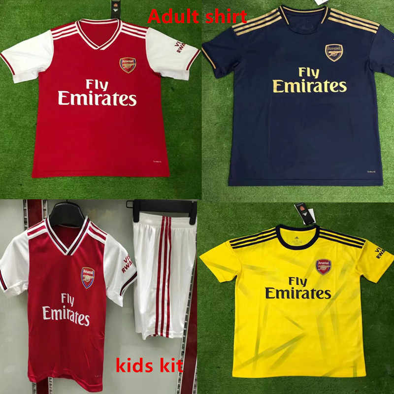 new york ab48b b3859 Adults and children shirt 2019 Arsenal football shirt kids ...