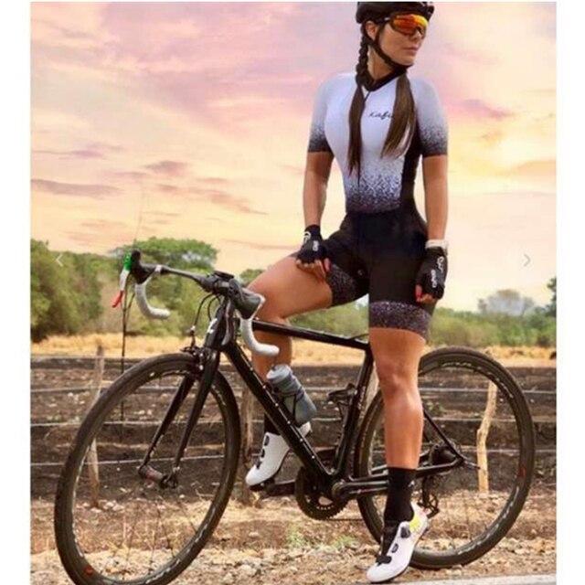 mulheres profissão triathlon terno roupas ciclismo skinsuits corpo maillot ropa ciclismo macacão das mulheres triatlon kits verão macacão ciclismo macaquinho ciclismo  feminino kafitt roupas femininas com frete gratis 1