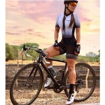 Kafitt-traje profesional de triatlón para mujer, Ropa de Ciclismo, monos, conjuntos de...