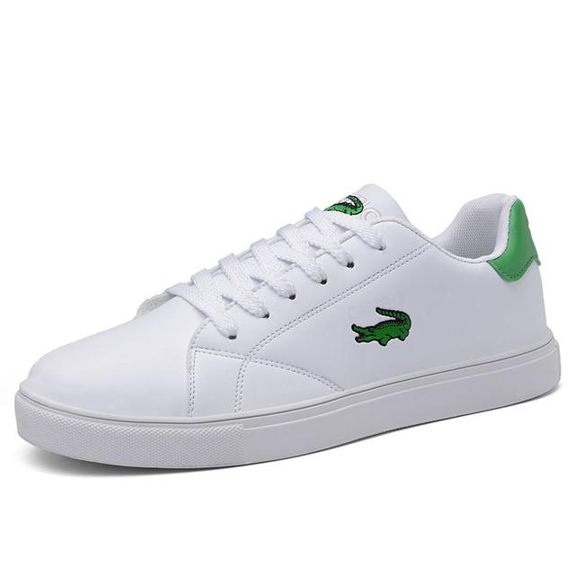 Men's shoes sports shoes solid color trend low-top breathable shoes