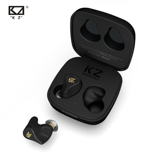 KZ Z1 TWS Wahre Wireless Bluetooth v 5,0 Kopfhörer Dual magnetische Dynamische Spiel Ohrhörer Touch Control Noise Cancelling Sport Headset