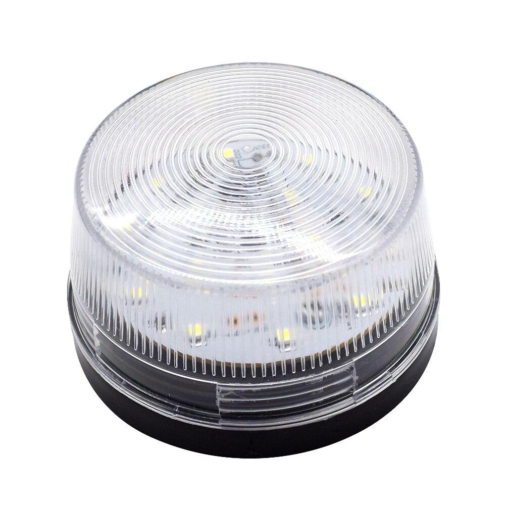 Strobe Signal Warning Light LED 12V 24V 220V Indicator Light LED Lamp Small Flashing Light Security Alarm