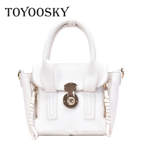 TOYOOSKY Women Bags Vintage PU Leather Messenger Bag Handbags Famous Brands Shoulder New Style Ladies Crossbody Flap