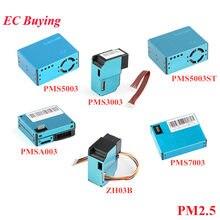 Sensor plantorre eletrônico de poeira, sensor laser de pms5003 pms7003 pms5003st pms3003 pmsa003 zh03b pm2.5