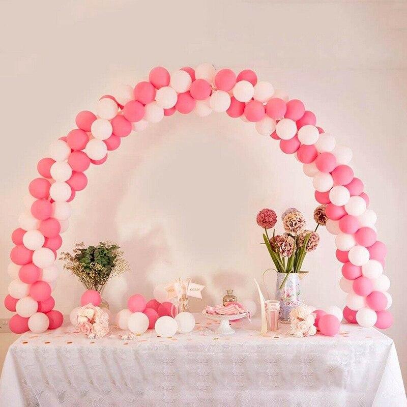 Ballon Arch Frame Colonne Stand Builder Kits Pour Anniversaire Mariage Fête Décoration