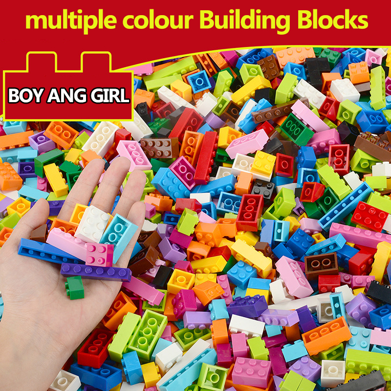 1500PCS Building Blocks Sets City DIY Bricks Creative Bulk Model Toy Compatible Figures Educational Birthday Gift Toys For Kids in Stacking Blocks from Toys Hobbies