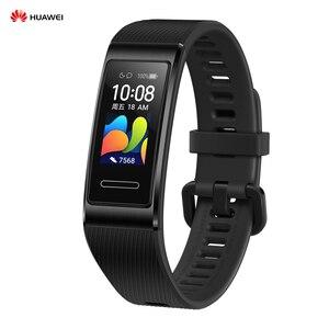 "Image 2 - HUAWEI Band 4 Pro 0.95"" Full AMOLED Touchscreen Smart Band Heart Rate Health Monitor GPS Sports Fitness Bracelet Women Men"