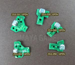 Image 2 - 10 pces jds030 jds001 jds011 jds040 jds055 para playstation 4 controlador usb placa de carregamento porto substituição para ps4 controlador