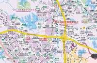 Shenzhen Karte Chinesische-Englisch Übersetzung Straße Karte von Shenzhen City District Shenzhen Karte Verkehrs Karte Road Karte Guide