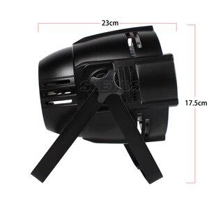 Image 4 - Aluminum Alloy LED Par 18x12W RGBW 4in1 LED Par Can Par 64 LED Spotlight Dj Projector Wash Lighting Stage Lighting