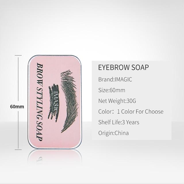 IMAGIC Eyebrow Shaped Gel Natural Molding Three-Dimensional Eyebrow Cream Eyebrow Set Gel Fixed Makeup Eyebrows Makeup 6