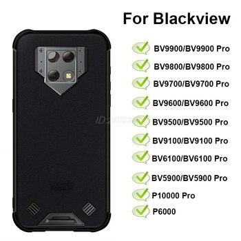 Перейти на Алиэкспресс и купить Силиконовый чехол Blackview BV9900 BV9800 BV9700 BV9600 BV9500 BV9100 BV6900 BV6800 BV6100 BV5900 Pro, чехол Blackivew P6000 P10000Pro