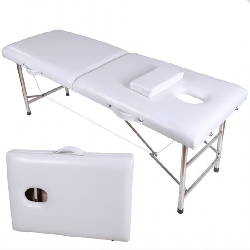 Portable Foldable Massage Bed Beauty Physiotherapy Massage Fire Therapy Traditional Chinese Medicine Physiotherapy Tattoo Bed