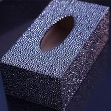 Newest Special Shape Diamond Painting Handmade DIY Tissue Box Home Office Car Crystal Embroidered Cross Stitch