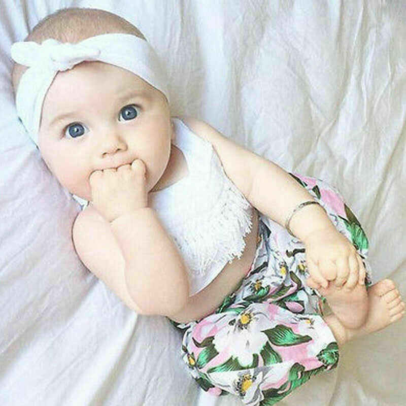 Pudcoco 2020 Nieuwe Mode Baby Meisje Kleding Zomer Tee + Korte Broek Kinderen Meisjes Casual Outfits Set