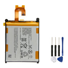 Replacement Battery For SONY Xperia Z2 L50w Sirius SO-03 D6503 D6502 3200mAh